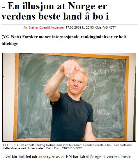 Faksimile fra VG.