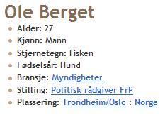 Fra Ole Bergets blogg 3. desember 2009.