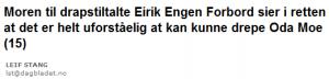 Faksimile fra Dagbladet 7. januar 2010.