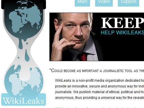 Assange begar politisk asyl i frankrike